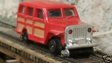 Bachmann 'HO' Scale - Jeep Wagoneer Powered Track Inspection Vehicle