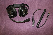 HD Headset for Motorola TRBO (XPR 6550) Portable Radios BTH Carbon Fiber Finish