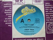 "CHEAP TRICK ""The Flame/Through the Night"" 7"" 45rpm Vinyl Record"