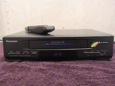 Panasonic PV-2501 VCR 4 Head w/ REMOTE
