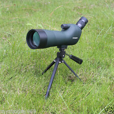BK7 Waterproof Telescope 20-60x60 Zoom Bird Watching Spotting Scope w/ Tripod