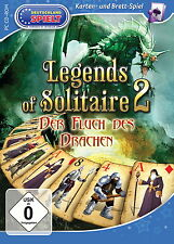 Legends of Solitaire 2 * La maledizione del drago * CARTE-GIOCO PC CD-ROM