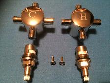 """1/2 """"bsp robinet de remplacement têtes + valves en céramique quart de tour évier bassin nouveau FREE P&P"""