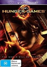 THE HUNGER GAMES-Jennifer Lawrence-Region 4-New AND Sealed-DVD+Ultraviolet