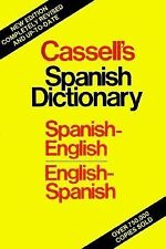 Cassell's Spanish-English, English-Spanish Dictionary, Garcia de Pareded, Angela