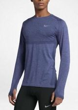 Nike Dri-Fit Knit Long Sleeve Shirt Midnight Navy/Dark Purple Dust M 717760-410