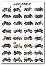 "BMW Motorcycle Classic Collection Fridge Toolbox Magnet Size 2.5"" x 3.5"""