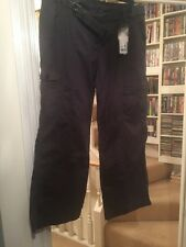 BNWT George Cargo Trousers Size 16 Short Grey