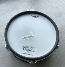 "Roland PD-100 (White) 10"" Electronic Drum Pad (worn mesh)"