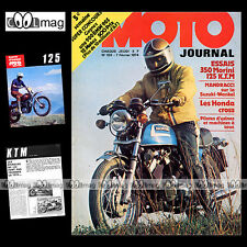 MOTO JOURNAL N°155 KTM 125 MORINI 350 SUZUKI RE5 PHIL READ BILL IVY HAILWOOD '74