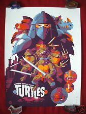 TEENAGE MUTANT NINJA TURTLES TOM WHALEN A.PROOF PRINT TMNT MONDO HALLOWEEN # /40