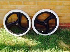 "BICICLETTA BMX SATE-w3 MAG WHEELS LIGHT 20"" Tre Ha Parlato Old Skool 20x27cx406 e pneumatici"