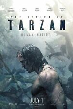 Legend of Tarzan - original DS movie poster - 27x40 D/S Advance