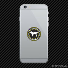 Proud Owner English Mastiff Cell Phone Sticker Mobile Die Cut