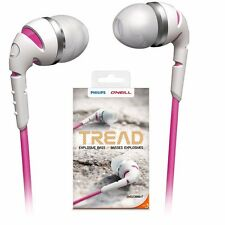 Philips SHO2300WT O'Neill THE TREAD in ear headphones SHO2300 White /GENUINE