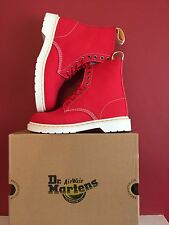 DR MARTENS Mens Page Boots True Red size Uk 9  Eu 43 BRAND NEW WITH BOX!!