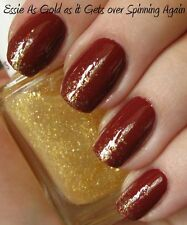 NEW! Essie Luxe Effect nail polish in AS GOLD AS IT GETS ~ Gold Glitter Top Coat