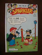 Sparkler #81 VG Movie