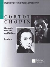 Complete Preludes and Waltzes for Piano Sheet Music ed. Alfred Cortot  050499650
