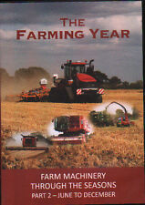DVD: THE FARMING YEAR: Farm machinery through the seasons part 2 - June to Dec