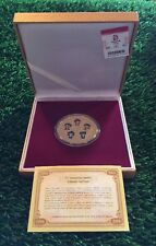 China Olympics medal plaque mascot Summer Olympic Games Olympiad Beijing 2008