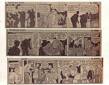 Gasoline Alley by Dick Moores - 26 large daily comic strips from December 1966