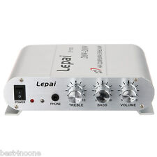 Lepai Hifi Stereo RCA 3.5mm Audio Input Aux Function Power Digital Amplifier