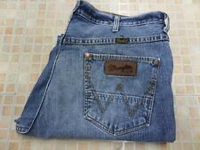 MENS VINTAGE WRANGLER JEANS ALASKA BLUE SIZE W36 L31 VERY GOOD SKU K787