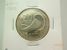 Fiji 20 Cents coin (2006) - UNC / BU