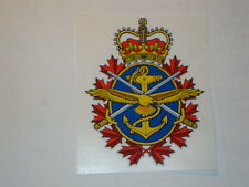 """2 X   CANADIAN ARMED FORCES  4"""" BRITISH ARMY USA  MILITARY INSIGNIA"""