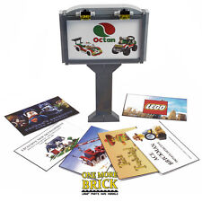 LEGO City Billboard / Advertising Poster sign with 7 printed inserts