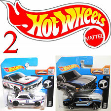 2x HOT WHEELS 2002 +'73 BMW 3,0 CSL German Race Car 100th Anniversary RARE (2hw11