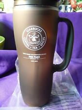 Starbucks Travel Mug Tumbler 2010 16oz Brown Only@1st Store Pike Place Exclusive