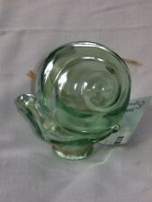 New Green Glass Snail Watering Bulb Globe