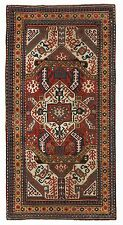 Remarkable and Early Antique Caucasian Karabagh KASIM USHAG Rug, c 1850, Perfect