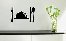Wall Stickers Vinyl Decal For Kitchen Restaurant Food Chef Dish ig1558