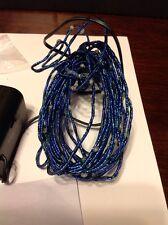 Bethlehem Lighting 16' Metallic Blue Ultra Thin Light Strand W/LEDs & Timer