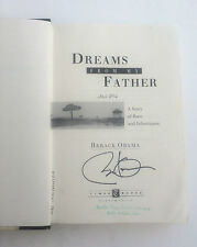 PSA/DNA 1995 Dreams From My Father BARACK OBAMA Signed Autographed 1st Book