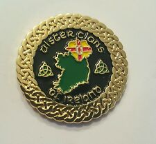 Ulster clans of Ireland pin badge irish genealogy history