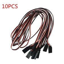 10PCS 500mm RC Servo Extension Servo Lead Cable Cord Wire parts For Futaba JR
