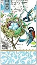 TWO (2) Birds Nest Paper Hostess Napkins for Decoupage and Paper Crafts