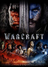 Warcraft (DVD, 2016) (dvd in a blue ray slipcase) free shipping