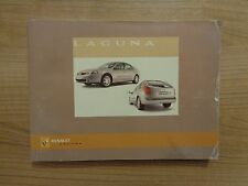 Renault Laguna Owners Handbook/Manual 05-07