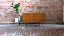 Small Teak Sideboard/ Record Cabinet -  Retro Mid Century Eames Parker Style