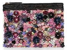 Accessorize Monsoon Clutch Bag Wedding Party Handbag Pearl Embellished Bead UK