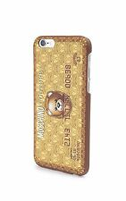 100% AUTHENTIC Moschino Couture Jeremy Scott Bear Credit Card Gold iPhone 6 Case