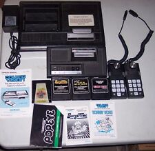 ColecoVision Video Game System Console 4 Games 2 Controllers & Expansion Module