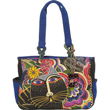 Laurel Burch Carlotta's Cats Tote - Multi