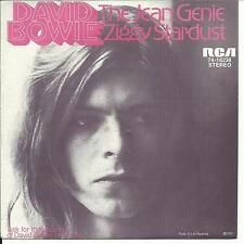 7'David Bowie   Jean Genie/Ziggy Stardust  GERMANY LONG-HAIR PIC-SLEEVE NM/EX