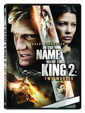 DVD - Action - In the Name of the King 2: Two Worlds Dolph Lundgren Uwe Boll